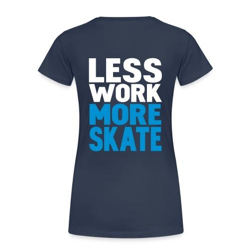 Girl skate - Premium T-skjorte for kvinner