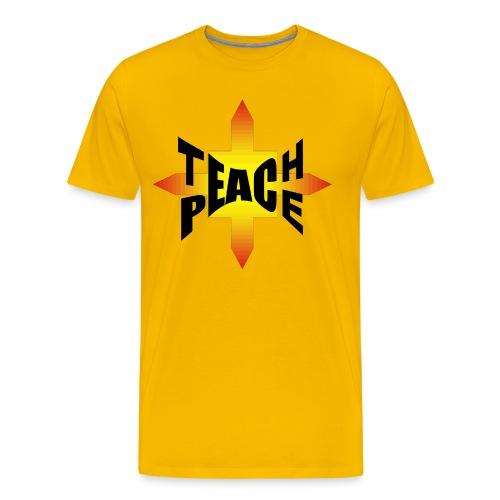 Teach Peace Shirt - Männer Premium T-Shirt