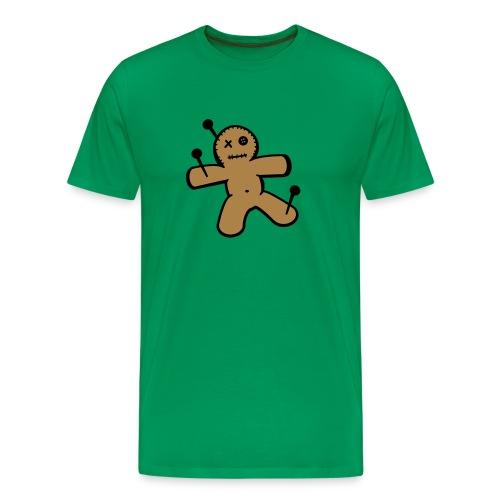 Mannen T-shirt met Voodoopop opdruk - Mannen Premium T-shirt
