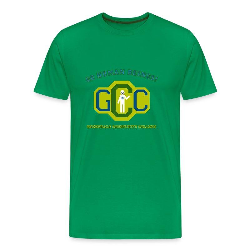 Community - go human beings! - Camiseta premium hombre