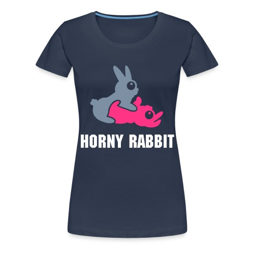 Horny Rabbit - Women's Premium T-Shirt