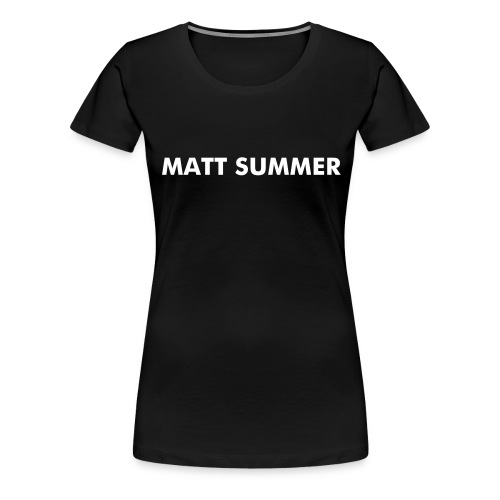 LADIES MATT SUMMER T-SHIRT - Women's Premium T-Shirt