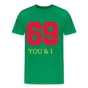 69 = You and I - Männer Premium T-Shirt