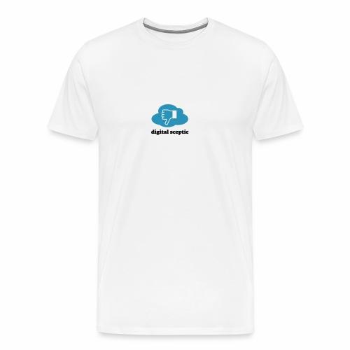 Digital Sceptic - Männer Premium T-Shirt