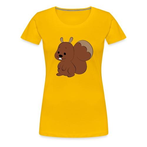 Hörnchen - Frauen Premium T-Shirt