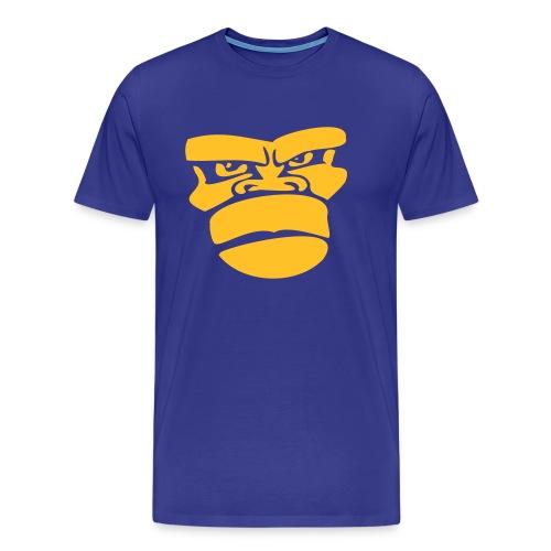 Apengezicht Heren T-shirt - Mannen Premium T-shirt