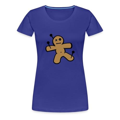 Dames T-shirt met Voodoo Pop Opdruk - Vrouwen Premium T-shirt