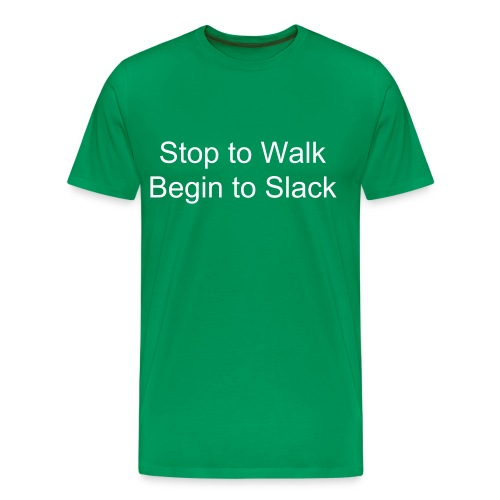 Stop to Walk - T-shirt Premium Homme