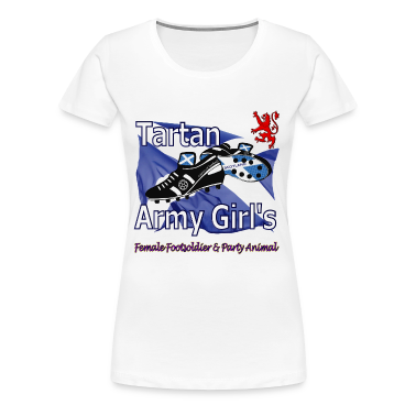 Tartan Army Girls Scotland Football