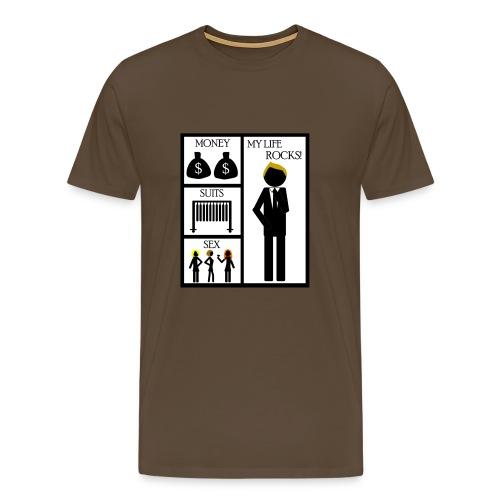 How I Met Your Mother - money - suits - sex - my life rocks! - Camiseta premium hombre