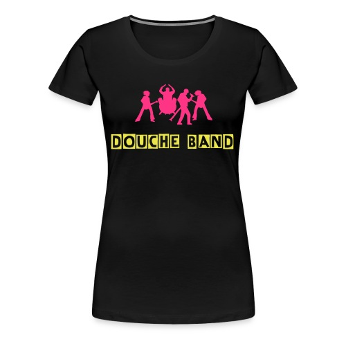 T-Shirt for Kvinner - DOUCHE BAND - Premium T-skjorte for kvinner