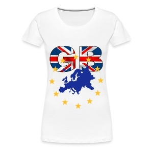 GB t shirt - Women's Premium T-Shirt
