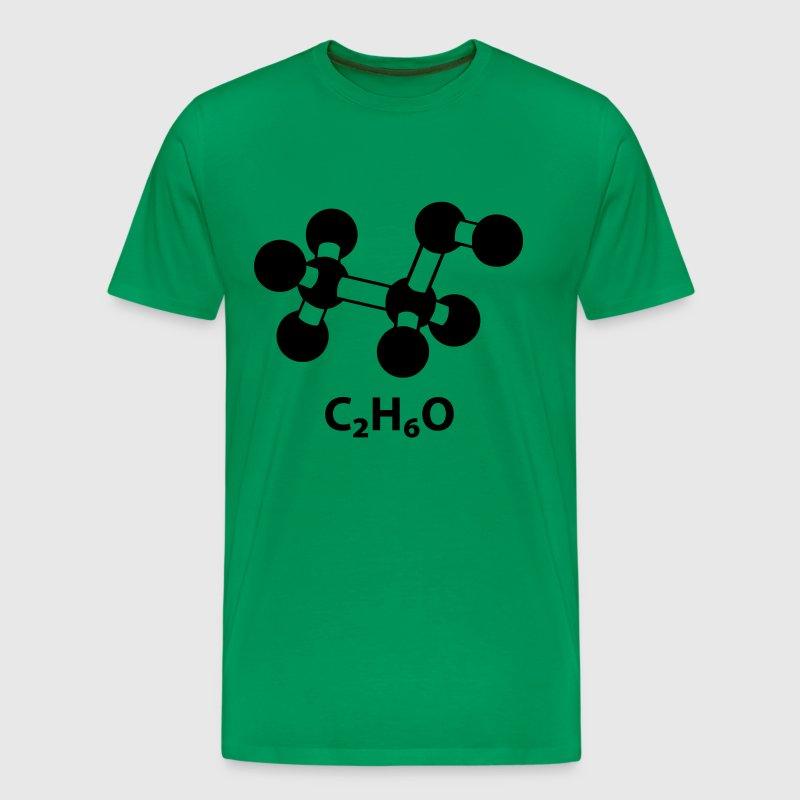 alkoholmolek l mit formel c2h6o t shirt spreadshirt. Black Bedroom Furniture Sets. Home Design Ideas