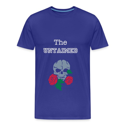The Untaimed Skull and Rose - Men's Premium T-Shirt