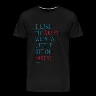 T-Shirts ~ Men's Premium T-Shirt ~ Artsy Fartsy - Men's colours