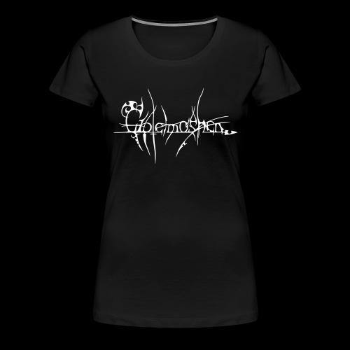 mit Logo auf dem Rücken - Frauen Premium T-Shirt