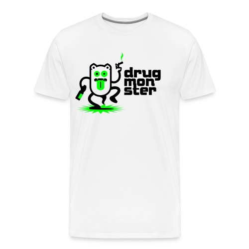 Drugmonster shirt - Männer Premium T-Shirt