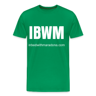 T-Shirts ~ Men's Premium T-Shirt ~ The IBWM base tee