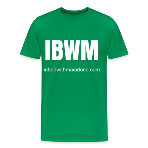 The IBWM base tee - Men's Premium T-Shirt