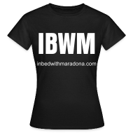 T-Shirts ~ Women's T-Shirt ~ The IBWM slim tee for women