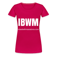 T-Shirts ~ Women's Premium T-Shirt ~ The IBWM base tee (women)