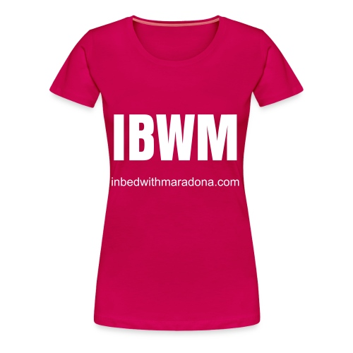 The IBWM base tee (women) - Women's Premium T-Shirt