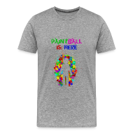 Camisetas ~ Camiseta premium hombre ~ Community - paintball is here