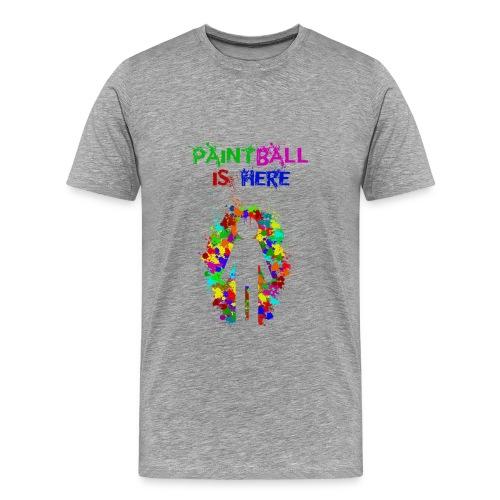 Community - paintball is here - Camiseta premium hombre