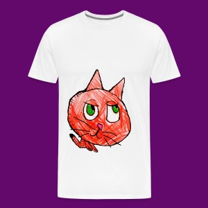 CHAT NATHAN - T-shirt Premium Homme