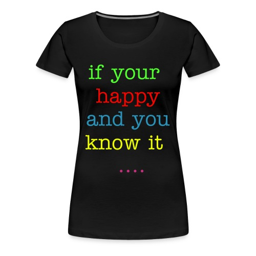 clap your hands - Women's Premium T-Shirt
