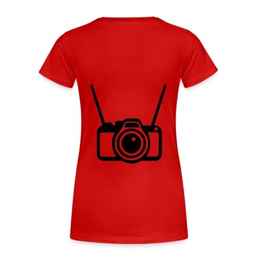 reclame shirt 001 - Vrouwen Premium T-shirt