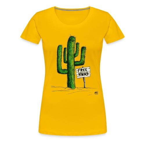 Cactus girls - Frauen Premium T-Shirt