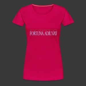 FORTES FORTUNA ADIUVAT - Women's Premium T-Shirt