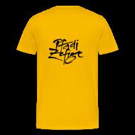 T-Shirts ~ Männer Premium T-Shirt ~ Klassiker Gelb