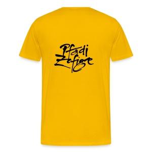 Klassiker Gelb - Männer Premium T-Shirt