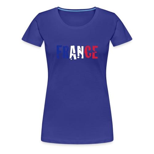 Women's T-Shirt France - Women's Premium T-Shirt