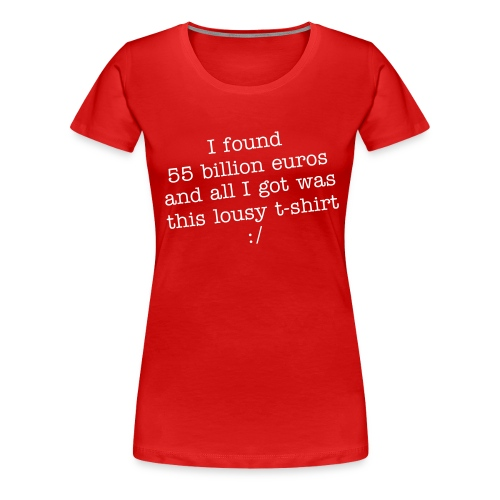 55billion - Frauen Premium T-Shirt