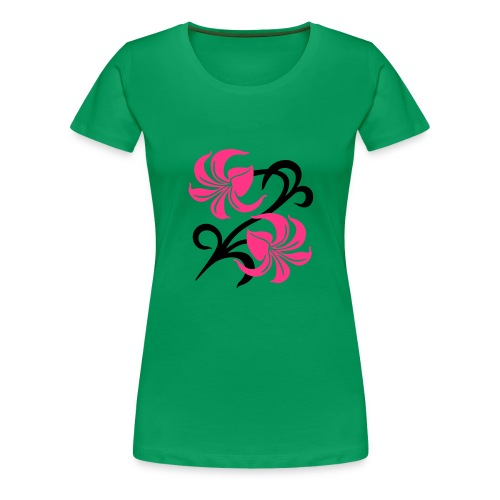 Women's T-Shirt Floral - Women's Premium T-Shirt