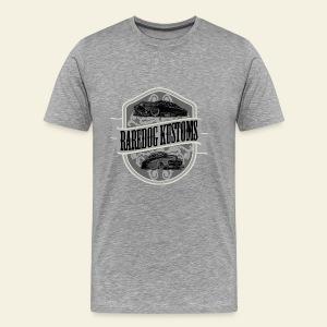 Raredog Kustoms Tee  - Herre premium T-shirt