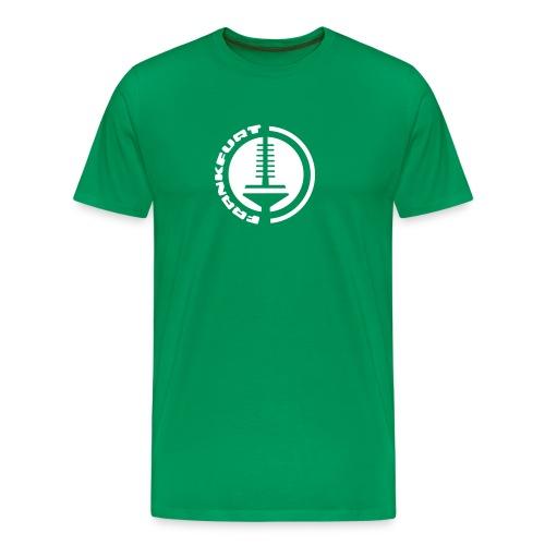 Frankfurt Fernsehturm Emblem T-Shirt - Männer Premium T-Shirt