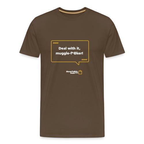MENS: Muggle F*@ker - Men's Premium T-Shirt