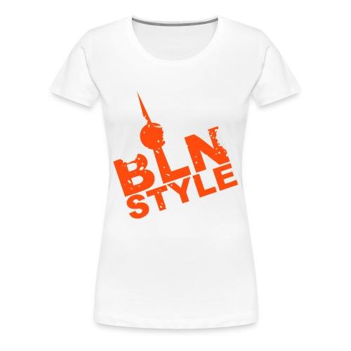 BLN STYLE Orange - Frauen Premium T-Shirt