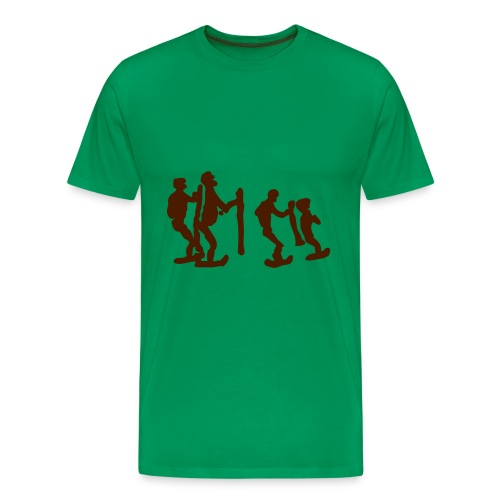 Ukot - Miesten premium t-paita