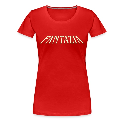 Glow in the dark Womens T with Fantazia Crew logo - Women's Premium T-Shirt