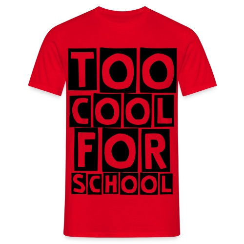 SCHOOL - T-shirt Homme