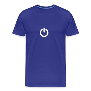 Camiseta interruptor power On Off 20 12 - Camiseta premium hombre