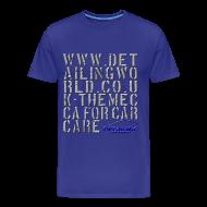 T-Shirts ~ Men's Premium T-Shirt ~ Detailing World 'Mecca' T-Shirt (B&W)