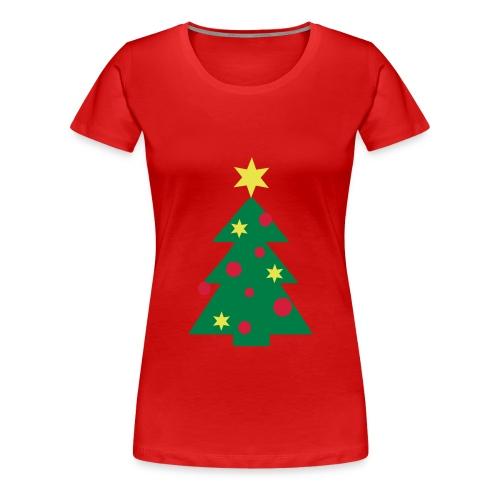 Christmastree - Frauen Premium T-Shirt