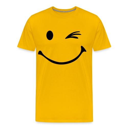 Smile - Maglietta Premium da uomo