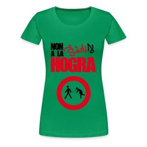 Non à la Hogra - T-shirt Premium Femme